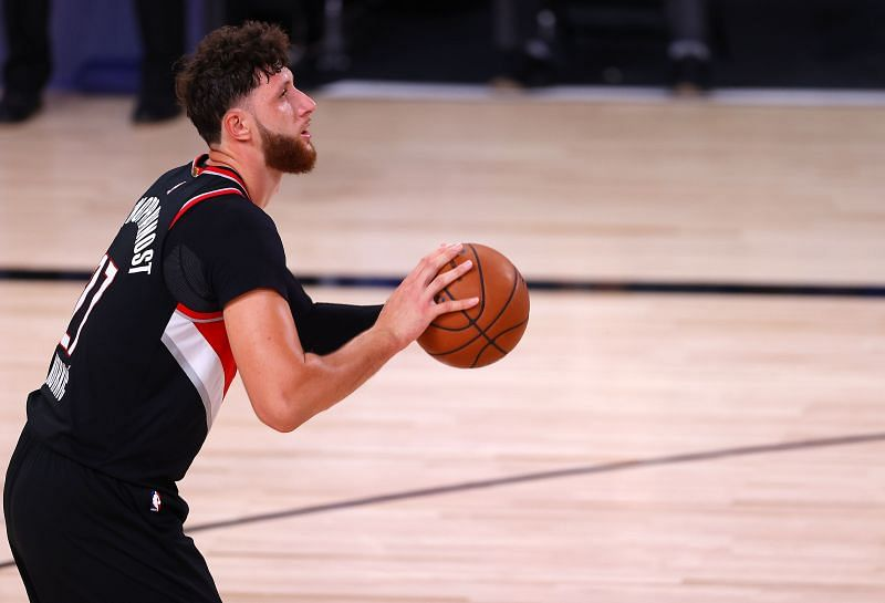 Portland Trail Blazers v Los Angeles Lakers - Game One