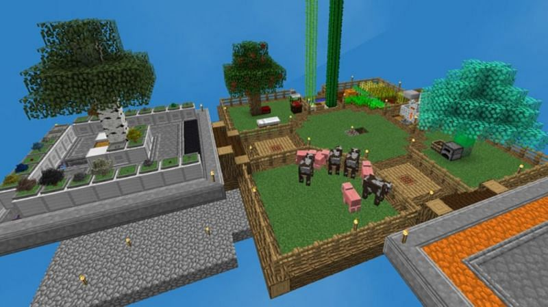 SkyFactory 4 (Image via Minecraft)