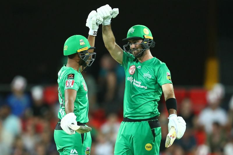 Glenn Maxwell and Nicholas Pooran put on a 125 run stand for the fifth wicket