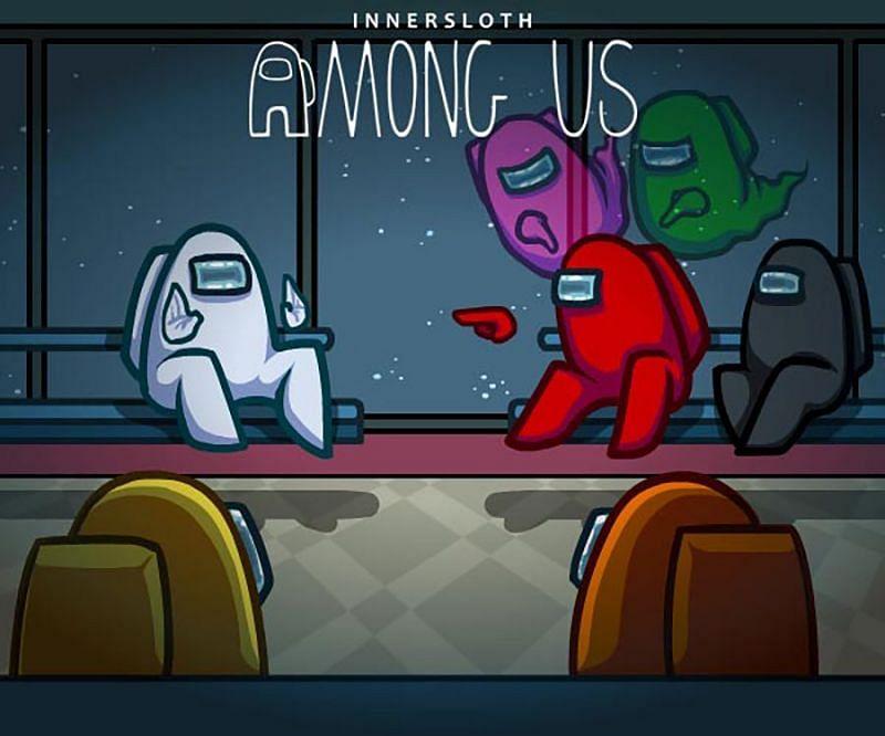 Among Us reveals win percentage of Impostors and Crewmates (Image via InnerSloth)