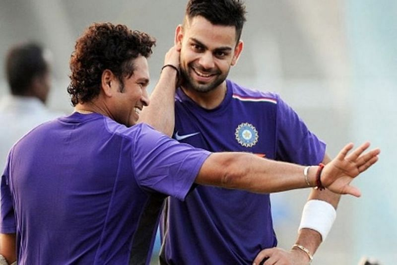 Sachin Tendulkar advised Virat Kohli to be mindful of the clock during the pink-ball Test.