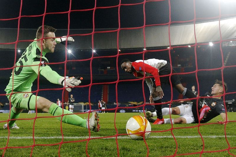 After their victory over CSKA Moscow, can Feyenoord make the knockout stages by beating Wolfsberger AC?