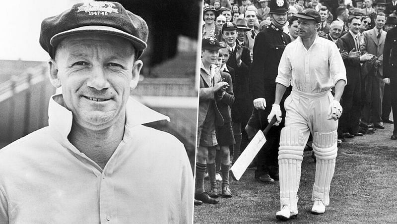 Sir Don Bradman led from the front in Australia