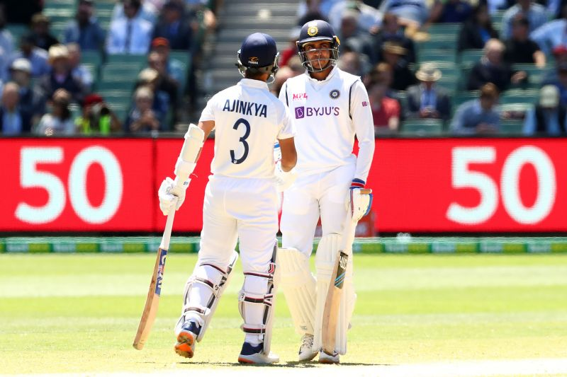 Ajinkya Rahane (27*) and Shubman Gill (35*) chased down the 70-run target within 16 overs