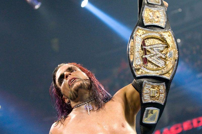 Jeff Hardy at WWE Armageddon 2008