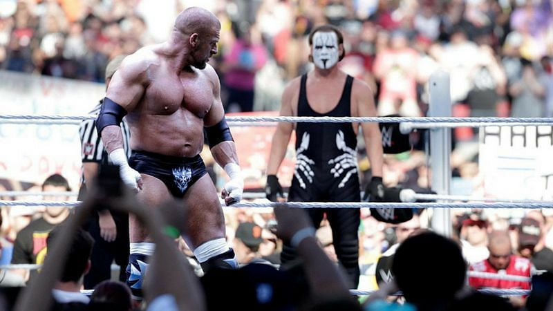 Triple H defeated Sting at WrestleMania 31