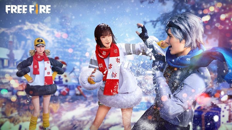 The Xmas Day Celebration event in Free Fire will run for a single day (Image via ff.garena.com)