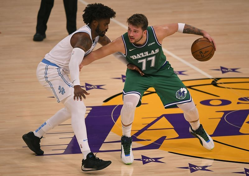 Luka Doncic (right)