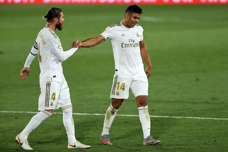 Casemiro has scored four goals this season.