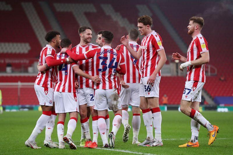 Stoke City play Bournemouth on Sunday