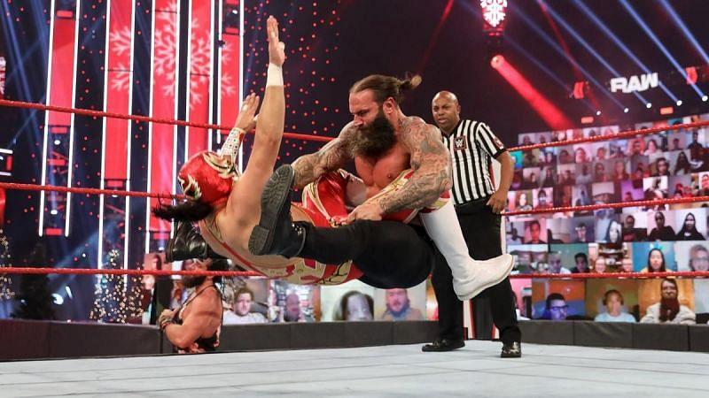 Jaxson Ryker beat Gran Metalik on WWE RAW