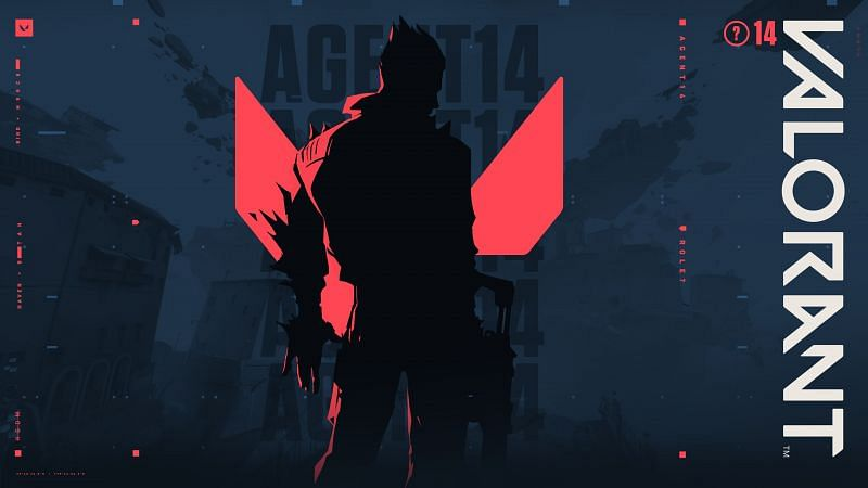 The Valorant Agent 14 silhouette (Image by Riot Games)