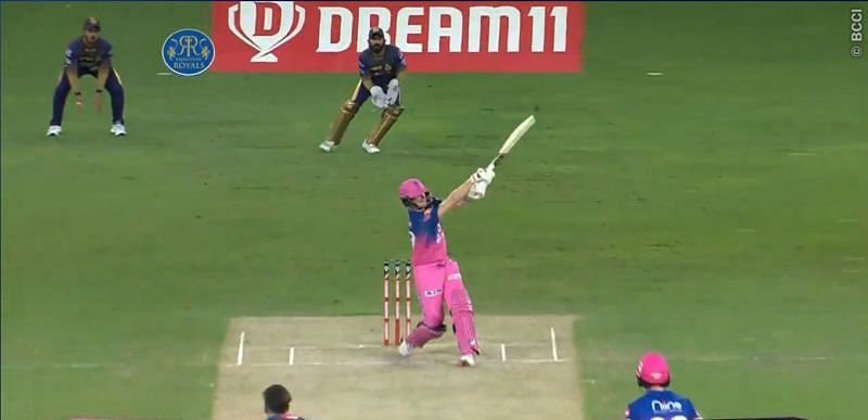 Steve Smith looked out of sorts during IPL 2020 (Credits: IPLT20.com)