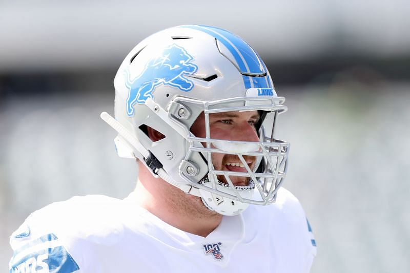 Detroit Lions Center Frank Ragnow Is Nursing A Rare Injury In the NFL