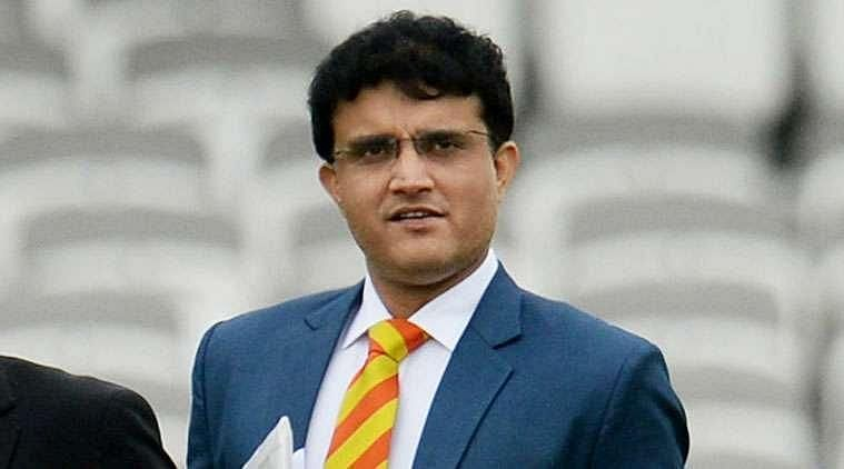 Former India captain and current BCCI presidentSourav Ganguly