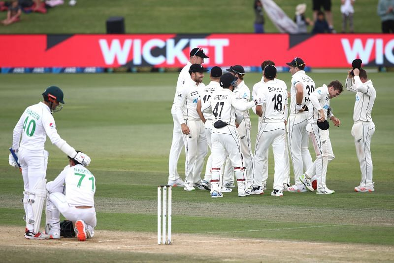 Naseem Shah was the last man dismissed from the Pakistan.cricket team