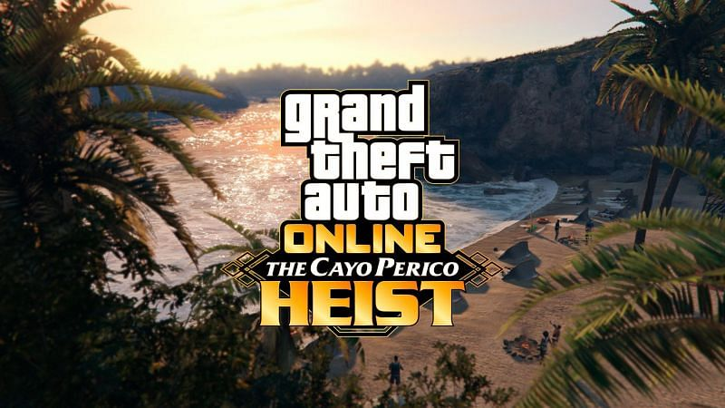 The grappling hook in the Cayo Perico Hest will allow players to scale broken walls within the compound (Image via Rockstar Games)