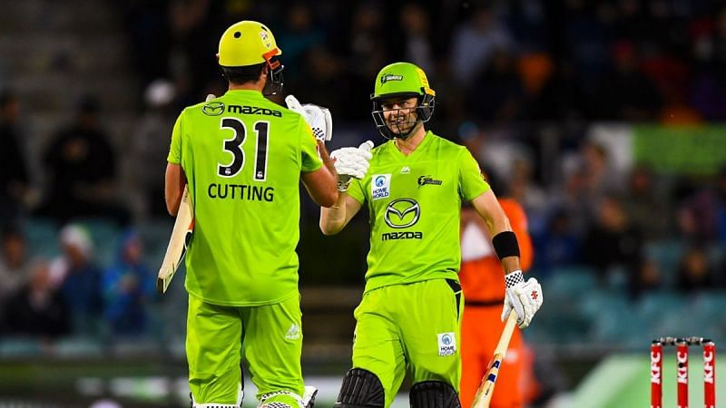 Sydney Thunder come into this BBL 2020 game in great form.