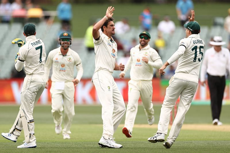 Mitchell Starc came close to missing the first Test against India.