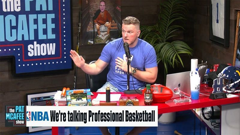 Pat McAfee has been running his show for about a year now