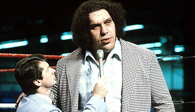 Vince McMahon and Andre the Giant