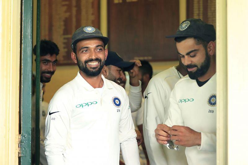 Ajinkya Rahane will lead the Indian Test team in the next three matches against Australia
