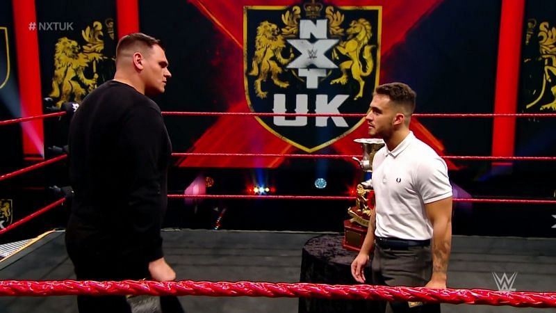 NXT UK Champion, Walter returned on this week