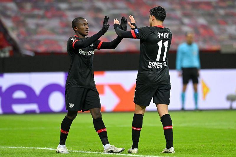 Bayer Leverkusen host Hoffenheim at the BayArena on Sunday