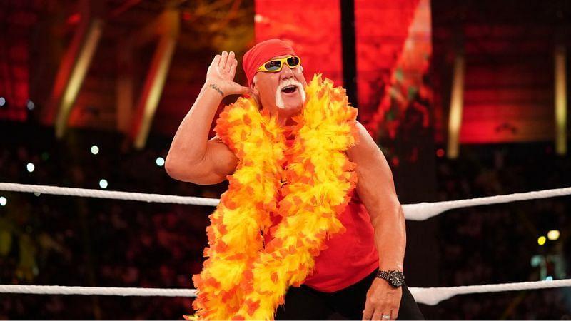 Hulk Hogan makes sporadic appearances in WWE
