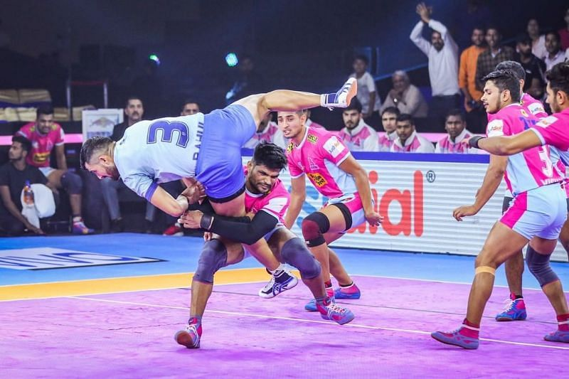 Amit Hooda has played two seasons for Jaipur Pink Panthers.