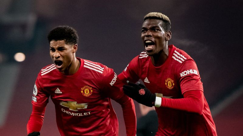 Manchester United beat Wolves to climb to second place in the Premier League table.