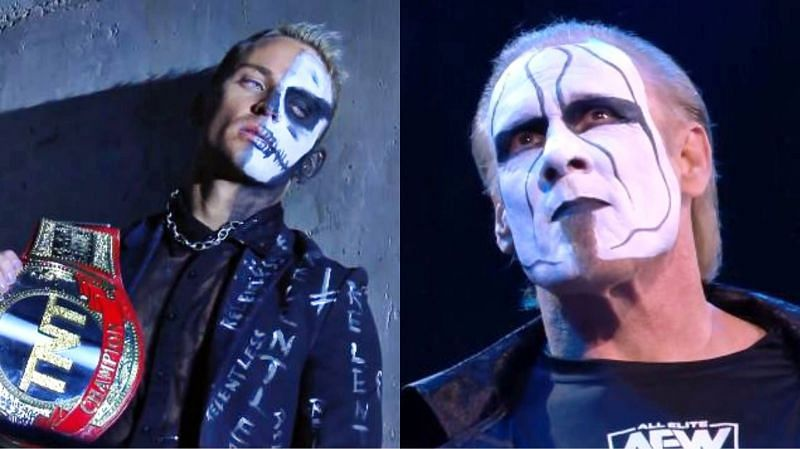 AEW Dynamite Holiday Bash included a cool moment between Darby Allin and Sting