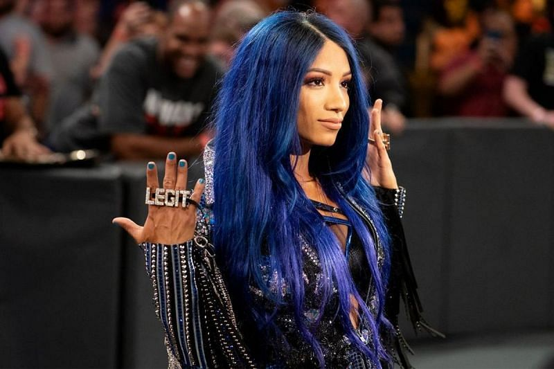 Sasha Banks is waiting for the Evolution pay-per-view to return