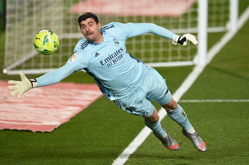 Courtois has been in incredible form for Real Madrid