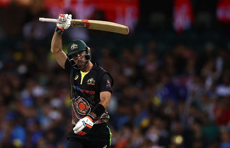 Glenn Maxwell has contrasting returns when he plays for Australia than those in the IPL