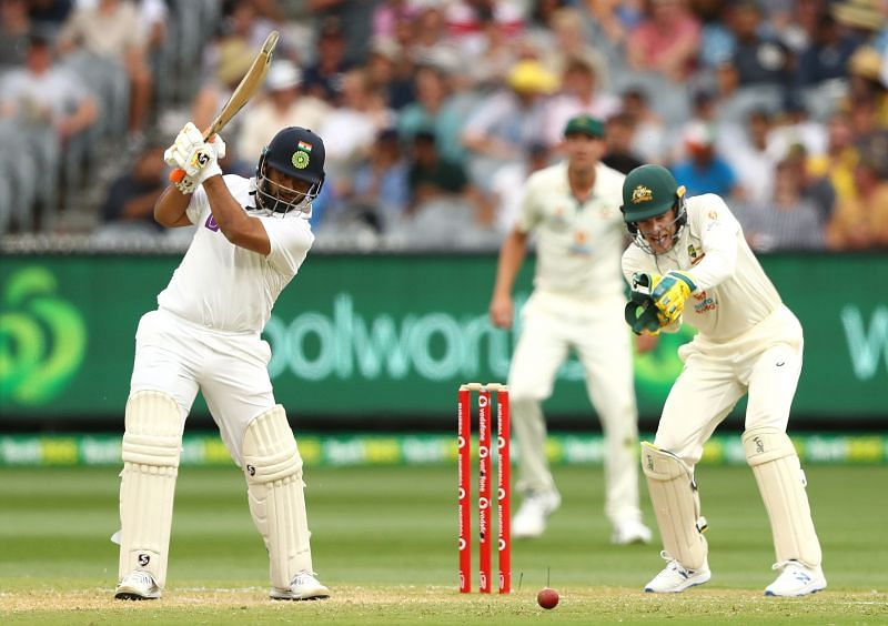 Rishabh Pant gave the required impetus to the Indian innings