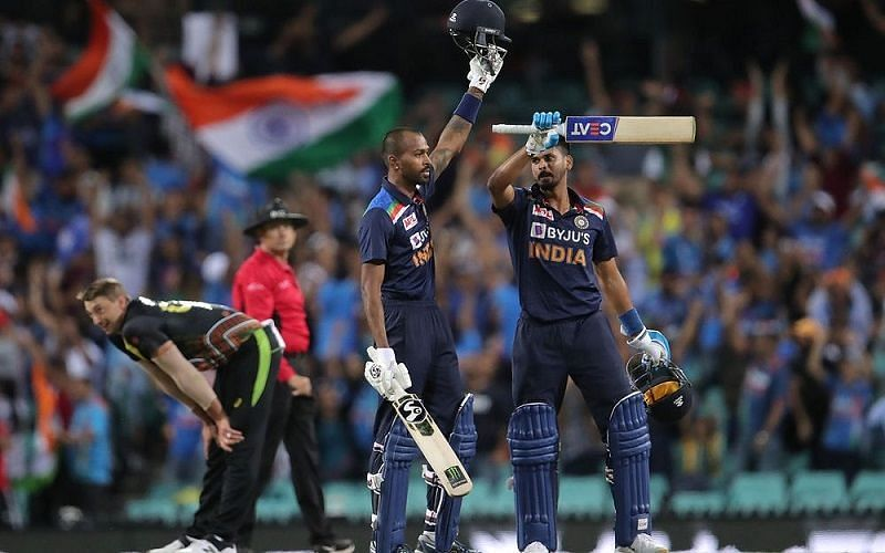 Hardik Pandya played a fine knock of 42* off just 22 balls and helped India beat Australia by six wickets