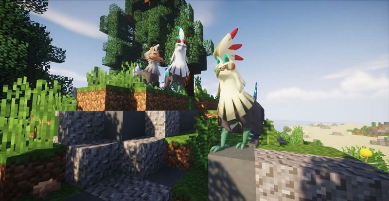 Modpacks make great additions to single-player Minecraft worlds (Image via Minecraft)
