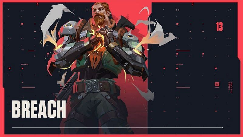 Breach's ultimate can frustrate opponents in Valorant (Image via Riot Games)