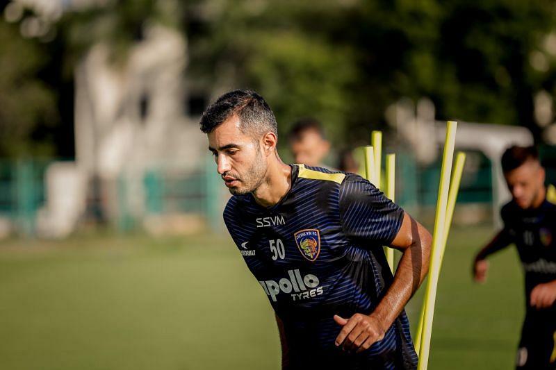 Rafael Crivellaro (Image Courtesy: Twitter/@ChennaiyinFC)