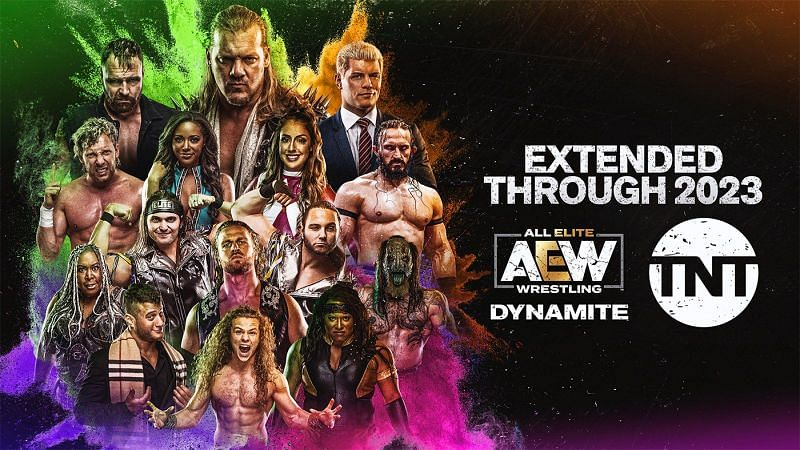 This year, AEW Dynamite renewed its contract with TNT through 2023.