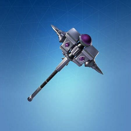 The Silver Sledge is a pick axe which is sold separately for 800 V-bucks in Fortnite, is also a part of the total Sterling outfit (Image via Epic Games)