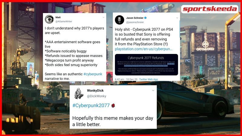 Sony has just dropped a massive bomb as Cyberpunk 2077 has now been de-listed from the PlayStation Store (Image via Cyberpunk.net)