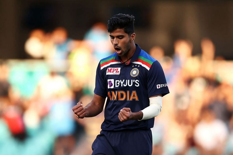 Washington Sundar ended 2020 as the highest-ranked Indian bowler on the ICC T20I Rankings