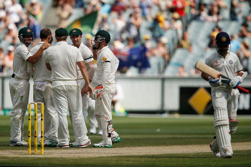 Nathan Lyon has dismissed Ajinkya Rahane the most times in Test cricket.