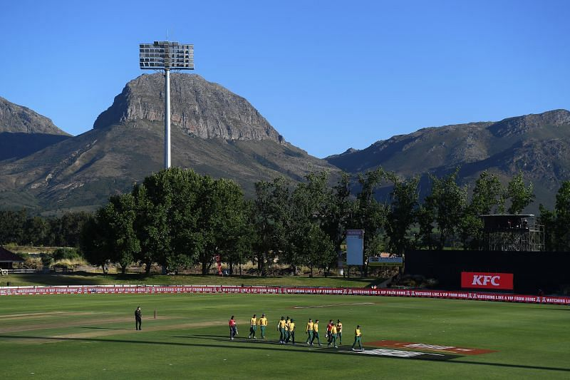 Boland Park in Paarl will host the first ODI between England and South Africa