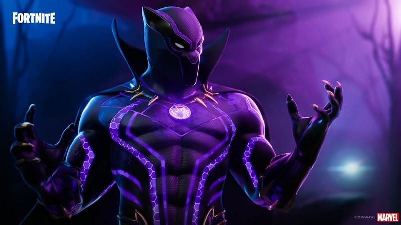 How to complete the Black Panther quests in Fortnite (Image via LawyFN, Twitter)