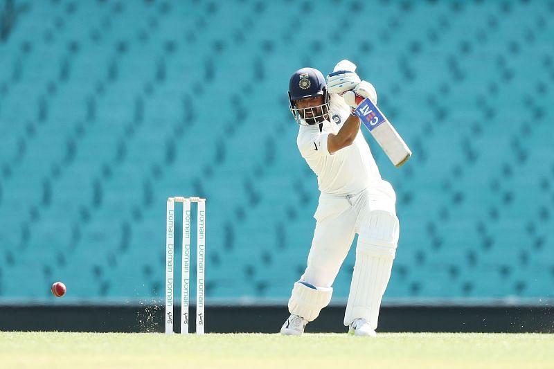 Ajinkya Rahane enjoyed batting in the
