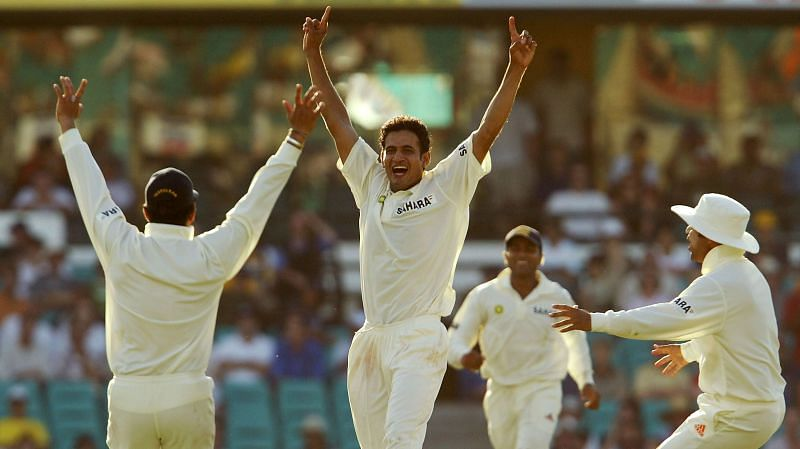 Irfan Pathan took 100 wickets for India in Tests