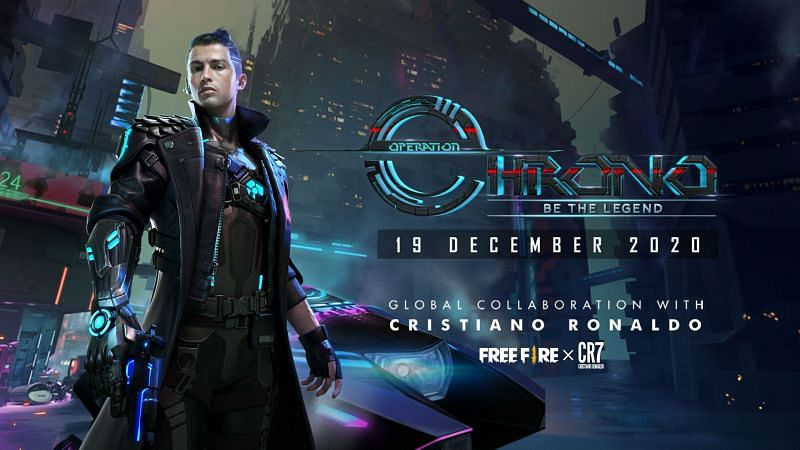 The Operation Chrono calendar was released in Free Fire, providing players with detailed insight into Chrono events (Image via Free Fire / Facebook)